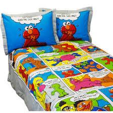 sesame street elmo bedding collection