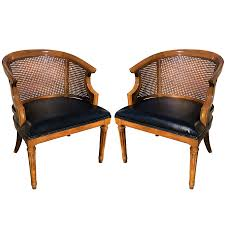 Pair Of Mid Century Cane Barrel Back Club Chairs By Drexel ... 51 Wicker And Rattan Chairs To Add Warmth Comfort Any 1960s Vintage Drexel Caned Barrel Back A Pair For Soldpair Of High Barrel Back Caned Reading Chairs Antique Teak Posts Facebook Tortuga Low Chair Of Mid Century Cane Club By Mcguire Ding Room Toboggan Arm Mcgm130c Set Six Danish Leather Kofodlarsen Style Midcentury Side Claude