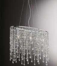 kristall pendelleuchten es glitzert und funkelnd in ihren