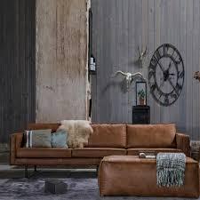 wohnzimmer mit aus recyceltem leder braun wohnzimmer