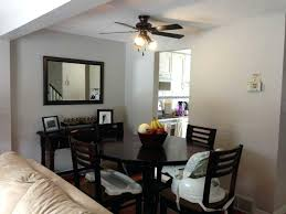Dining Room Ceiling Fan Ideas With Amazing Over Kitchen Table Also