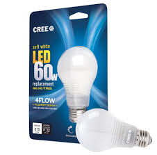 cree launches new cheaper plastic 4flow 60w and 40w equivalent