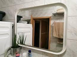 storjorm ikea spiegel mit led beleuchtung weiß bad 80x60cm