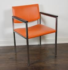 Steelcase Mid-Century Orange Vinyl Armchair : EBTH Fniture Original Stackable Chairs With Arms Hon Pagoda Series 24725 Prospect Upholstered Vinyl Armchair In White D2d Vintage Chrome And With Ottoman Ebth My Passion For Decor A Much Need Update An Old Chair Kessel Gray Froy Httpdocommodwayftureamishdgvylarmchairin Seat Reupholstering How To Upholster Diy Mid Century Modern By Indiana Co Batchelors Way Office Redo To Reupholster A That I Modterior Ding Room Lippa 53038 Key Store Arm Chair Fabric Ding Eei1595 Room Set Va