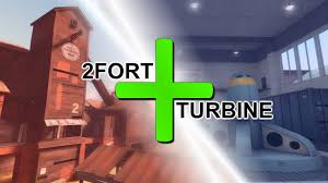 Tf2 Halloween Maps Download by 2bine A 2fort Turbine Hybrid Map For You Games Teamfortress2