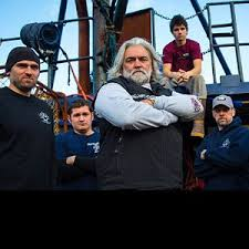 Wizard Deadliest Catch Sinks by Capt Sig Hansen The Chain Smoking Coffee Chugging Star Of The
