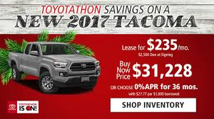 $235/mo. Lease Or 0% APR For Up To 36 Mos. On A New 2017 Tacoma ... 2018 Toyota Tacoma Pickup Truck Lease Offers Car Clo Vehicle Specials Faiths Santa Mgarita New For Sale Near Hattiesburg Ms Laurel Deals Toyota Ta A Trd Sport Double Cab 5 Bed V6 42 At Of Leasebusters Canadas 1 Takeover Pioneers 2014 Hilux Business Lease Large Uk Stock Available Haltermans Dealership In East Stroudsburg Pa 18301 Photos And Specs Photo
