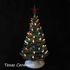 Cracker Barrel Ceramic Christmas Tree Replacement Bulbs by Christmas 82 Awesome Ceramic Christmas Tree With Lights Ceramic