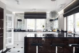 This Art Deco Kitchen With Glam Touches Remind Us Of The Chic And Elegant Spaces