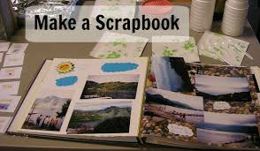 Make A Scrapbook For Your Geography Fair Display