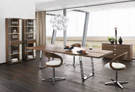 Fabulous Modern Wood Dining Room Sets With Manificent Decoration Contemporary Tables Splendid