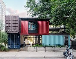 104 Shipping Container Homes In Texas Buildings Bar Austin