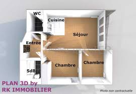 appartement deux chambres location appartement f3 neuf aubervilliers 93300 rk immobilier