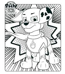Paw Patrol Coloring Pages Ryder Able