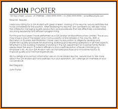 Cover Letter Programmer Junior