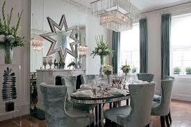 Crystal Decor Dining Room Design