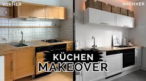 diy küchen makeover alte küche neu streichen komplette küche renovieren kleinstadtcoco