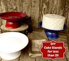 DIY Cake Stand for Under $5
