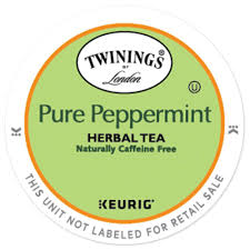 Twinings R Pure Peppermint Tea K Cup Pods 24ct