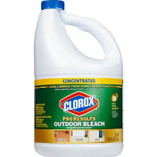 clorox 120 oz proresults concentrated outdoor bleach 4460030799