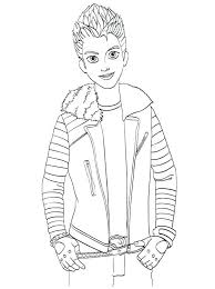 Coloring Pages Descendants Pictures Colouring Jay Two