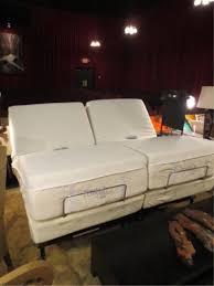 almost new tempurpedic split king adjustable bed b