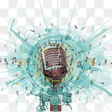 Microphone Music Background Leisure And Entertainment Musical Instruments PNG PSD