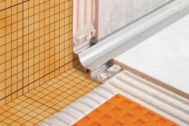 Tiling Inside Corners Wall by Inside Corner Movement Joints Movement Joint Profiles Profiles