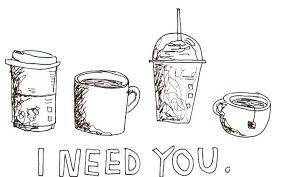 28 Collection Of Coffee Tumblr Drawing