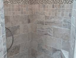 Sliced Pebble Tile Canada by Shower Walls Behind Showers And Tubs Amazing Ready To Tile