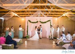 Indoor Wedding Ceremony Franklin County Field Days