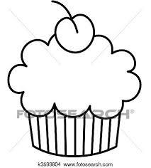 Birthday Cupcake Template Printable