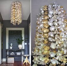Make A Paper Flower Chandelier