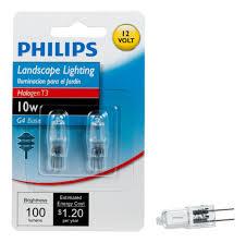 philips 417212 landscape lighting 10 watt t3 12 volt