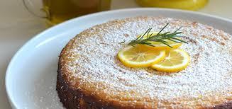 Rosemary Meyer Lemon Olive Oil Cake