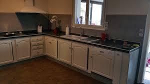 plan de travail cuisine sur mesure cuisine apres plan de travail et credence sur mesure lacque creme