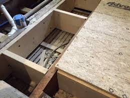 Sistering Floor Joists With Plywood by How To Prepare A Floor For Tile A Concord Carpenter
