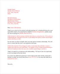 apology letter to customer for misunderstanding 28 images