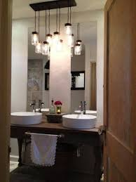 Chandelier Over Bathroom Vanity by Pendant Lighting For Bathroom Vanity Bathroom Decoration