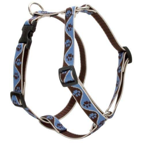 "Lupine Roman Dog Harness - Muddy Paws, 3/4"" x 20"" to 32"""