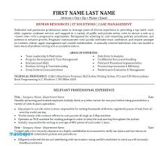 Case Manager Resume Examples Best Solutions Here