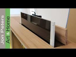 Interior Design Tips Making the Top of a TV Lift Cabinet by Jon Peters