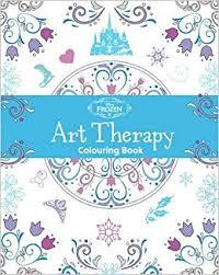Disney Frozen Art Therapy Colouring Book Amazoncouk Parragon Books 9781474836050