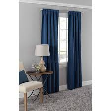 mainstays dotted room darkening curtain panel in multiple sizes