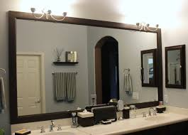 The Terrific Cool Oak Framed Bathroom Mirror Picture : Michverlassen Mirror Ideas For Bathroom Double L Shaped Brown Finish Mahogany Rustic Framed Intended Remodel Unbelievably Lighting White Bath Oval Mirrors Best And Elegant Selections For 12 Designs Every Taste J Birdny Luxury Reflexcal Makeover Framing A Adding Storage Youtube Decorative Trim Creative Decoration Fresh 60 Unique