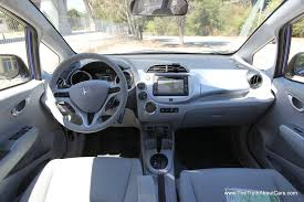 2011 Honda Fit EV Interior dashboard graphy Courtesy of