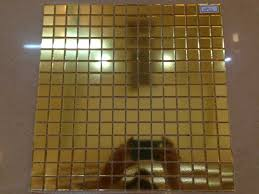 Tile Sheets For Bathroom Walls by Jy Hp01 Bisazza Square Glass Mosaic Gold Glass Mosaic Pattern Wall
