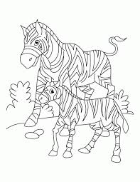 Free Coloring Pages Of Africa Animals