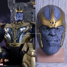 2019 2018 Avengers Infinity War Mask Thanos Mask Cosplay Full Head