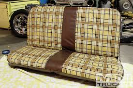 Chevy LUV Bed And Interior Bench Seat Replacement - Junkyard Jewel ... News Custom Upholstery Options For 731987 Chevy Trucks I Really Want To Do A Rugged Distressed Brown Leather Bench Seat 1957chevytruckseats Hot Rod Network Chevrolet Ck 1500 Questions Truck Seats Cargurus C10 Truck Install Split 6040 Bench Seat 7387 R10 196772 Front Similiar Replacement Seats Keywords Seating Covers Is There Source For 194754 Classic Parts Talk 2019 Silverado First Look More Models Powertrain Gm Suv Oem With New Leather 1999 2015 2500hd Ltz Interior